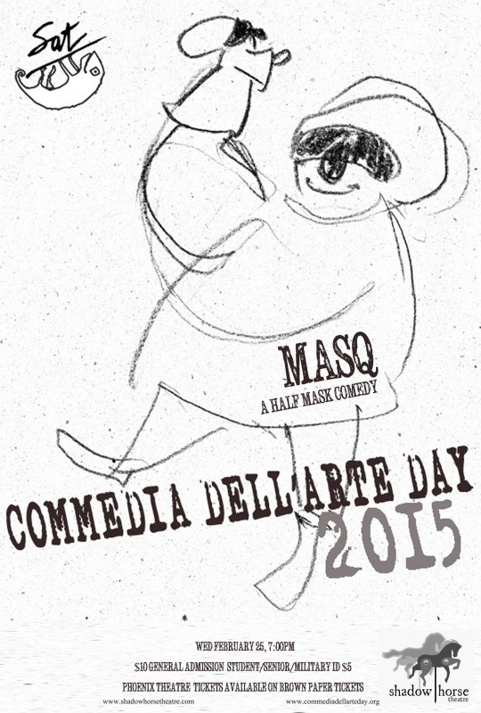 Masq Presents: World Commedia Day 2015